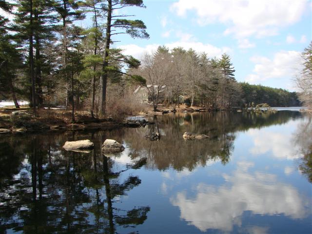 Spring on Moeckel Pond