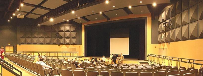 Auditorium of Windham High